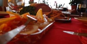 Smörgåsbord i jultappning
